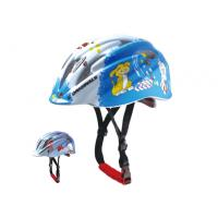 Wholesale Insect Net Road Blue Kids Bicycle Helmets Safety With Dog Cat Graphic from china suppliers