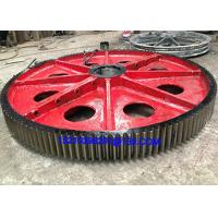 Heavy Duty Mechanical Forged Steel Rolled Ring Forging Gears Wheel
