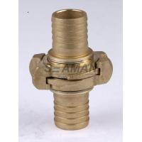 "Wholesale Firemans Hose Nozzle Nakajima 1.5"" / 2"" / 2.5""  Brass Fire Hose Coupling Connector from china suppliers"