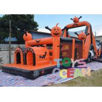 Wholesale Crazy Large Halloween Inflatable Haunted House Obstacle Course Equipment Outdoor from china suppliers