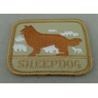 Wholesale Eco Friendly Custom Embroidery Patches with Polyester yarn / Cotton Yarn metallic thread from china suppliers