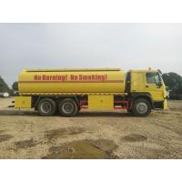 China Industrial Fuel Oil Tanker Trailer / Radial Tyre Stainless Steel Tank Trailer on sale