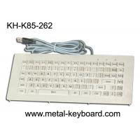 Wholesale Metallic stainless steel ruggedized keyboard industrial Vandal Resistant from china suppliers
