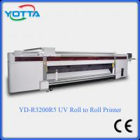 Wholesale uv led printer for both roll to roll and flat material wallpaper fabric uv printer from china suppliers