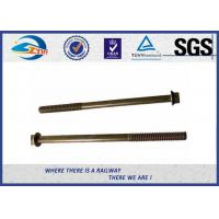 Wholesale Super Tunnel Bolt With Square Flange And Round Thread Metro Bolt And Fastener from china suppliers