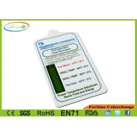Wholesale Accuracy PP Digital Freezer Thermometer Card Liquid Crystal Heat Sensitive from china suppliers