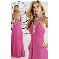 Wholesale China Evening Dress/2014 Elegant Halter Chiffon Party Evening Dresses for women,ladies from china suppliers