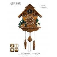 Wholesale Hot sales wooden cuckoo bird wall clock from china suppliers