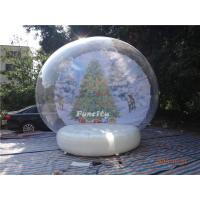 Wholesale 0.6mm PVC Tarpaulin Inflatable Christmas Decorations Advertising Use from china suppliers