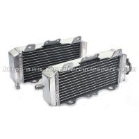 Wholesale Heat Resistance Custom Motorcycle Radiator / Dirt Bike Aluminum Radiator Engine Cooling System from china suppliers