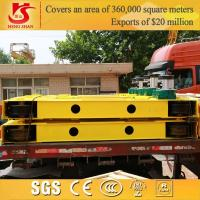 Wholesale 32 ton single girder overhead crane main girder and crane end carriage from china suppliers