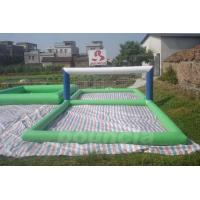Wholesale Durable 0.9mm PVC Tarpaulin Inflatable Water Volleyball Court For Water Sport Games from china suppliers