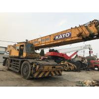 Buy cheap Japan Made Second Hand KATO 50 ton Rough Terrain Crane For Sale from wholesalers