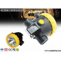 Quality IP67 Explosion - Proof Rechargeable Miners Headlamp Cordless Type 0.74W Power for sale