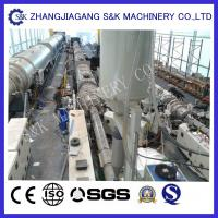 Wholesale Pipe extrusion machine single extruder PLC Controler For water pipe network system from china suppliers