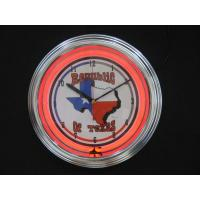 Wholesale Modern Home Decorative Plastic Antique Neon Clock 0.075CBM AA Battery from china suppliers
