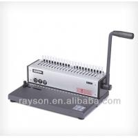 Wholesale 21 Holes Wire Comb Binding Machine , Office Binding Paper Binding Machine from china suppliers