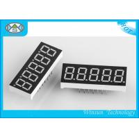 Wholesale LED 5 Digit 7 Segment Display 11-220 Mcd Brightness , LED Numeric Displays For Indoor from china suppliers