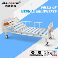 Wholesale Single Crank One Function Manual Hospital Patient Bed , Manual Adjustable Bed from china suppliers