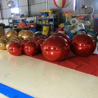 Buy cheap colorful Inflatable Mirror Ball For Big Event / Outdoor Balloons Advertising/Decoration/party from wholesalers