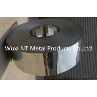 Wholesale 304/430 BA Finish PVC Coated Stainless Steel Strips with Slit Edge , 3mm-600mm Width from china suppliers