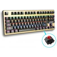 Wholesale Human Ergonomic design Greetech Switch Led Backlight Keyboard with 87 Keys for gaming from china suppliers