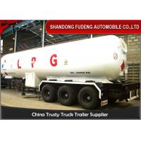 Wholesale Gas Ammonia Liquid LPG Tank Trailer Volume 49.1 Cubic Meter Steel Material from china suppliers