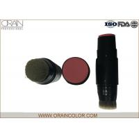 Wholesale Portable Stick type Color Face Makeup Blush Cream Makeup Cream with Brush from china suppliers