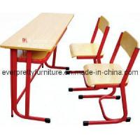 Wholesale Double Desk & Chair/Classroom Furniture/MDF Desks (GT-50) from china suppliers