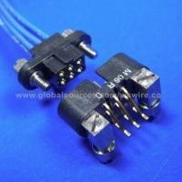 Wholesale Circular RF Military Connector Plug/Jack with Two or Three Rows Mini RF Coaxial Cable assembly from china suppliers
