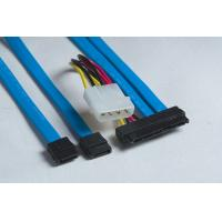 Wholesale Mini SAS x4 (SFF-8087) to SATA (4)x1 Data Cables from china suppliers