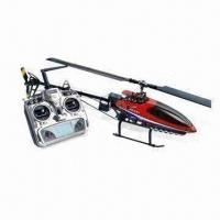 Wholesale 2.4GHz Flybarless RC Helicopter with 670mm Overall Length, Integration of 3-axis Gyro and Receiver from china suppliers