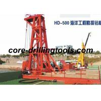 Buy cheap Oceaneering Prospecting Diamond Core Drill Rig 300M - 500M Hole Depth from wholesalers