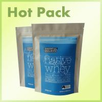 Wholesale Moisture Proof  Kraft Paper Powder Packaging Bag Biodegradable Non Toxic from china suppliers