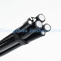 Wholesale Overhead Line Fittings Xlpe Power Cable , 70mm / 50mm 4 Core Insulated Aluminum Wire from china suppliers
