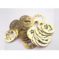 Quality Heat treatment Metal Stamping Parts Brass Stamping / Pressing / Punching Sheets for sale