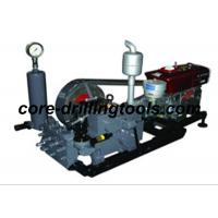 Wholesale Core Drilling Oil Rig Mud Pump Single Acting Reciprocation Piston Pump from china suppliers