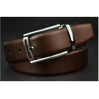 Wholesale factory direct high quality leather waist belts with clip buckle for business men from china suppliers