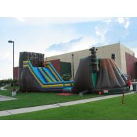 Wholesale Mobile Inflatable Obstacle and Zip Line For Playground Children Games from china suppliers