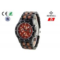 Wholesale BEWELL Wooden Wrist Watch Natural Eco Handmade Sandal Wood Wristwatch from china suppliers