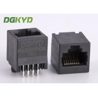 Wholesale Unshielded 180 degrees top insertion RJ45 keystone Jack 8p8c ethernet socket from china suppliers