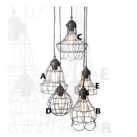 Wholesale 5 Style Wire Pendant Lighting Interior Design Triditional Suspension Lamp from china suppliers