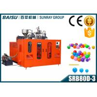 Buy cheap Automatic Plastic Extrusion PE Ocean Sea Ball Blow Molding Machine 3000BPH Capacity from wholesalers