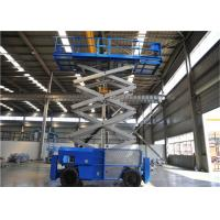 Wholesale 16m Mobile Self Propelled Scissor Lift Two Man Engine Powered For Tight Spaces from china suppliers