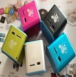 Wholesale Mini-Speaker, MP3 and FM support, Polymer Lithium battery embedded, Audio Line input, SD card storage from china suppliers