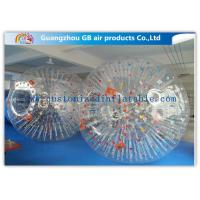 Wholesale Big Transparent Inflatable Bubble Ball /  Hamster Ball Popular Adults Soccer Sports from china suppliers