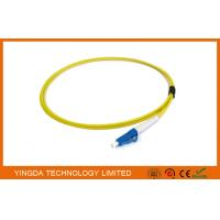 Wholesale Single Mode Optical Fiber Pigtails LC PC Simplex 2.4 mm Diameter 3 Meter from china suppliers