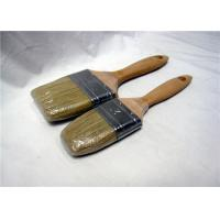 Wholesale Custom Durable Flat Paint Brushes Wooden Handle , Wall Paint Brush from china suppliers