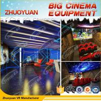 Wholesale Roller Coaster 7D Cinema Simulator With Lighting / Wind / Fog Special Effects from china suppliers