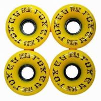 Wholesale 48 * 31 Inch Plate Round Yellow  Outdoor Skate Wheels For Mini Board from china suppliers